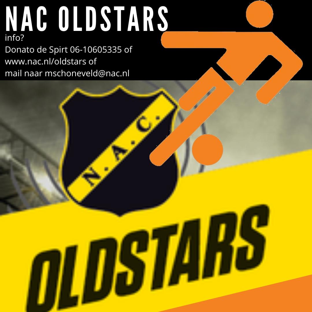 NAC Oldstars voetbal bij Beek Vooruit!