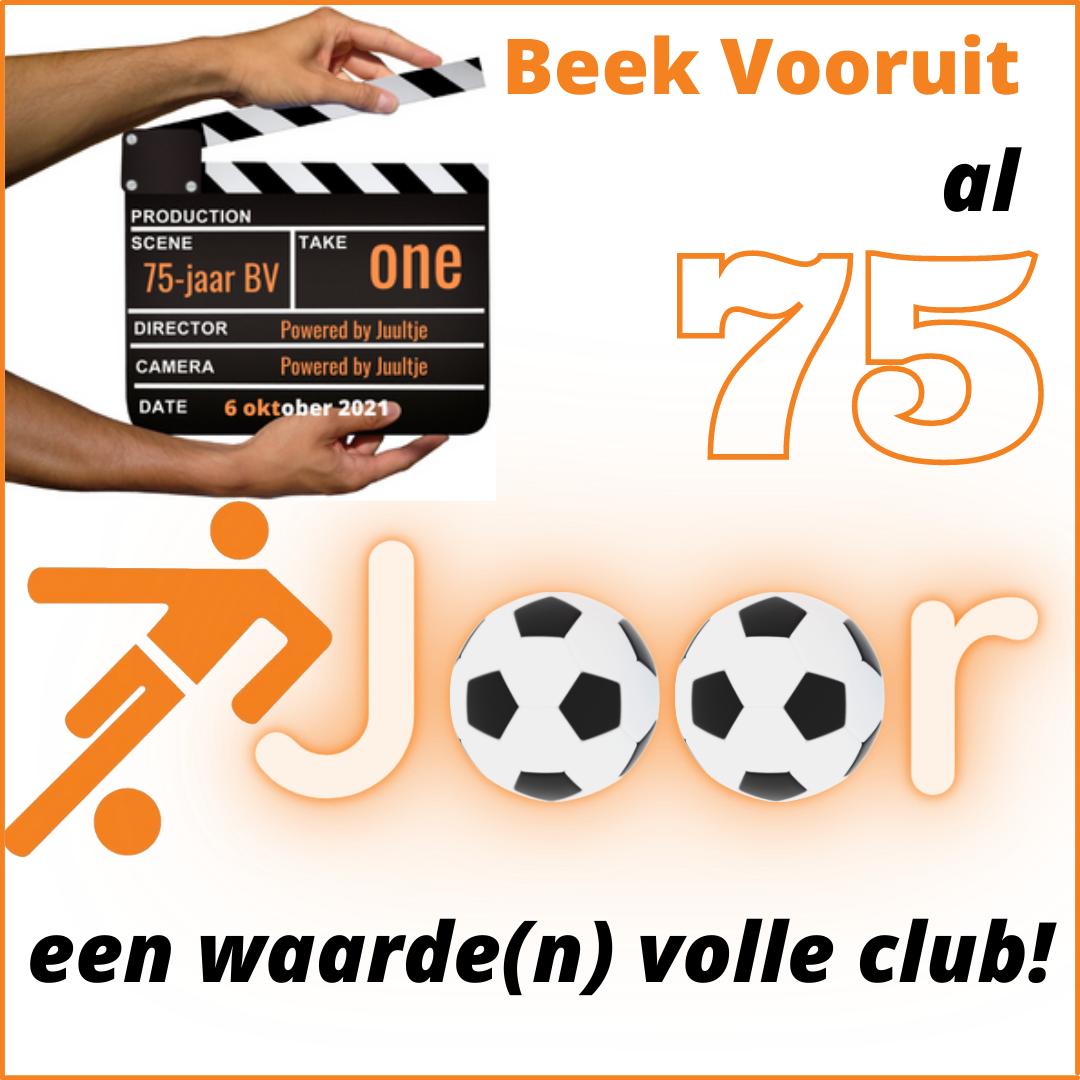 Trailer Beek Vooruit 75-jarig jubileum, powered by Juultje!