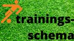 Trainingsschema van 29 maart tot en met 4 april